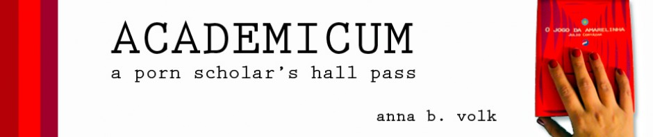 Academicum - A Porn Scholar's Hall Pass